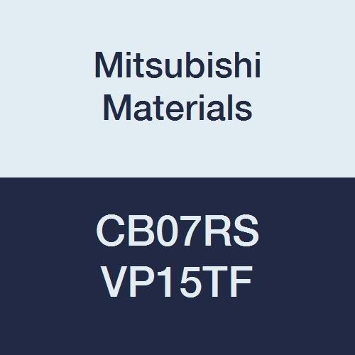 Mitsubishi Materials CB07RS VP15TF Carbide Series CB Micro-Mini Twin Boring Bar Without Breaker, Right, 0.05 mm Radius, 7 mm Shank Dia, 85 mm L
