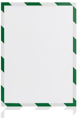 magnetoplan 1131345Magnetofix Safety Pack of 5Magnetic Frame A3Green and White