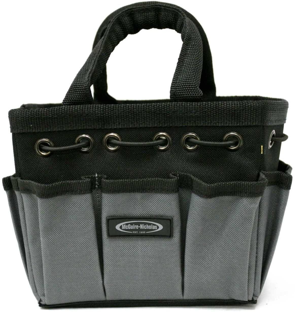 McGuire-Nicholas 22565-1 Mighty Bag Compact Tool Storage Tote, 7-Inch, Gray