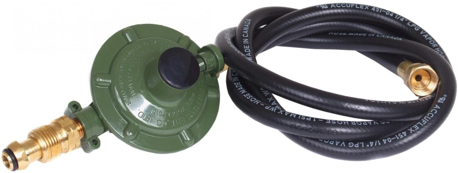 Hurricane Products Regulator Assembly with 5' Hose (15-0113) Category: Portable Stoves
