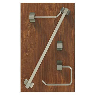HOMEWERKS WORLDWIDE DB-3 Home Pointe Brushed Nickel Bath Board Display