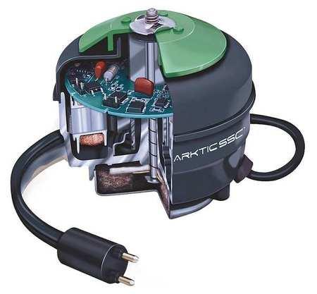 Unit Bearing Motor, ECM, 1/4 In. L, CCWLE