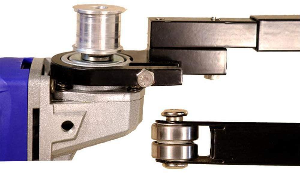 Multifunctional Grinder Mini Electric Belt Sander DIY Polishing Grinding Machine Cutter Edges Sharpener (20mm sanding belt)