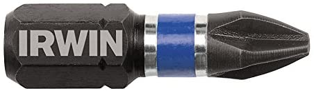 Irwin Tools 1838482 Accessories, Insert Bit Impact Number 2 Ph x 1