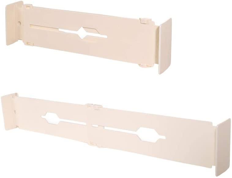 LivingFrom 4 Pack Adjustabel Expandable Drawer Dividers Set