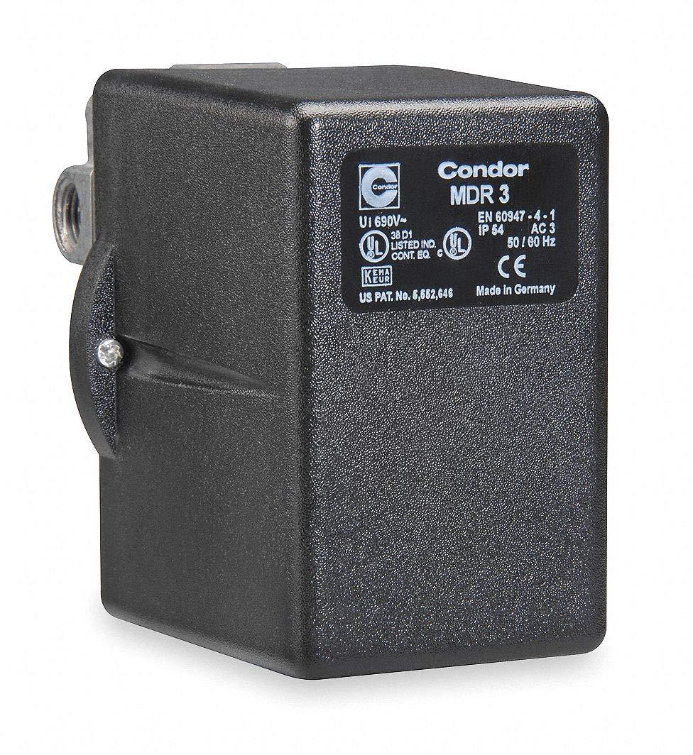 Pressure Switch, 3Pst, 60/80 Psi, Diaphragm