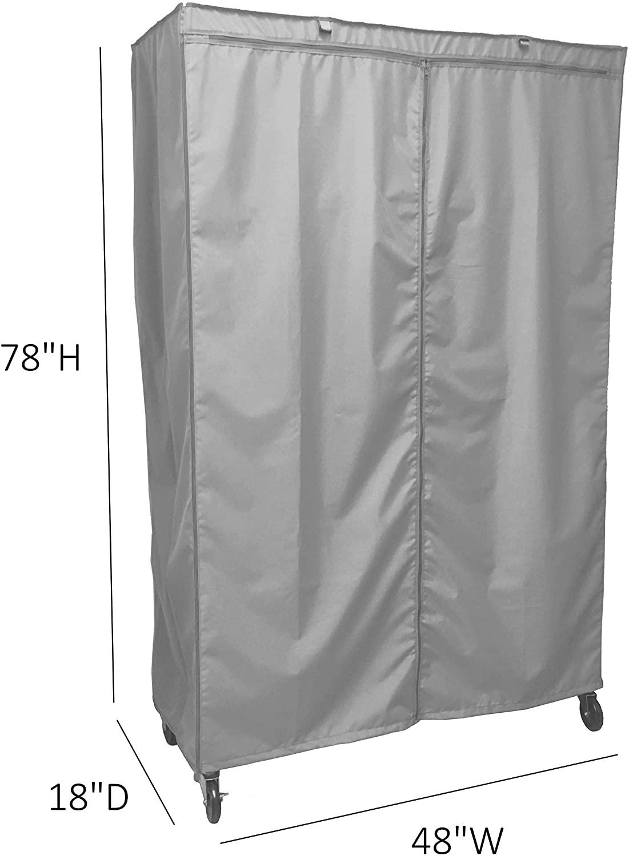 Formosa Covers Storage Shelving Unit Cover, fits Racks 48