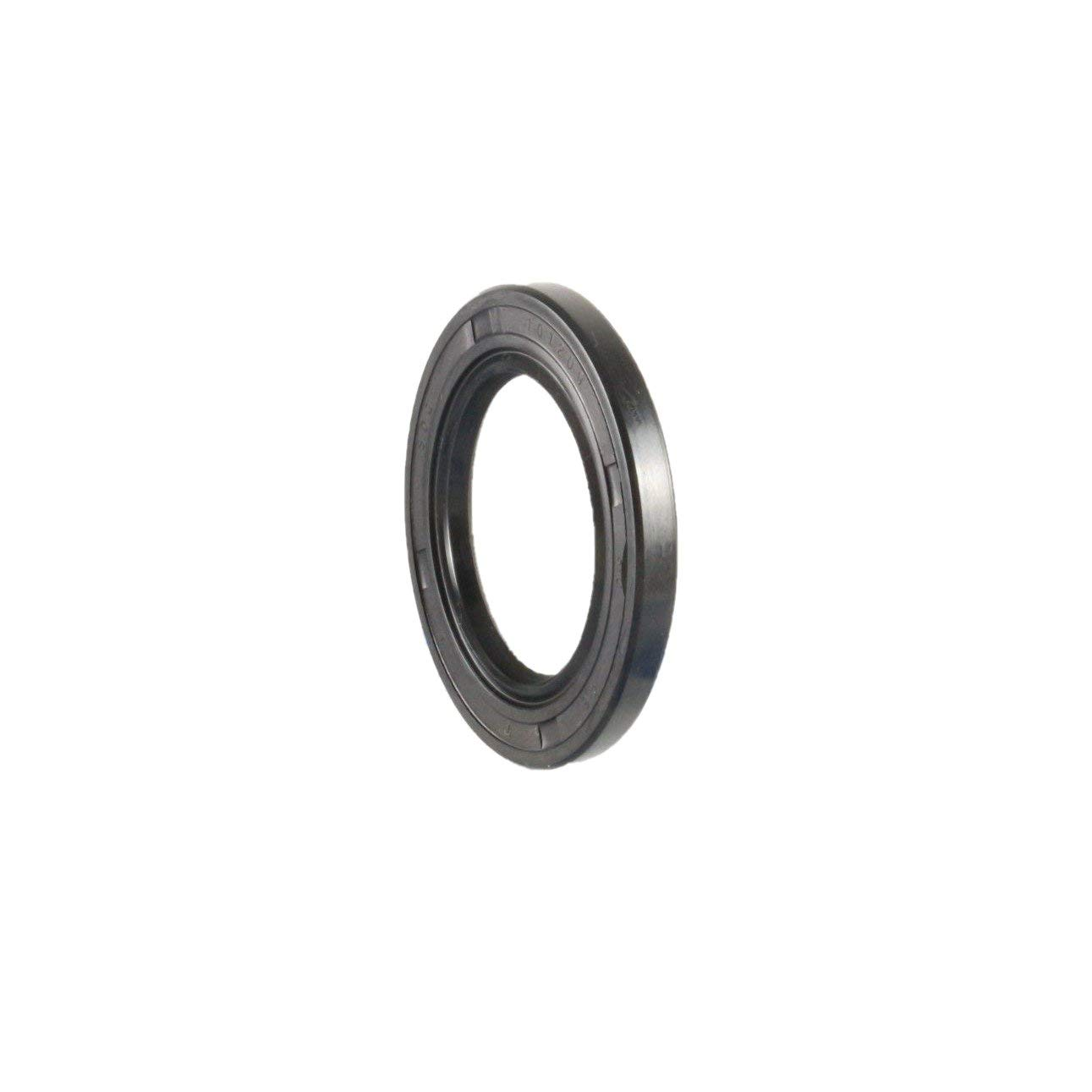 EAI Oil Seal 27mm X 41mm X 7mm TC Double Lip w/Spring. Metal Case w/Nitrile Rubber Coating