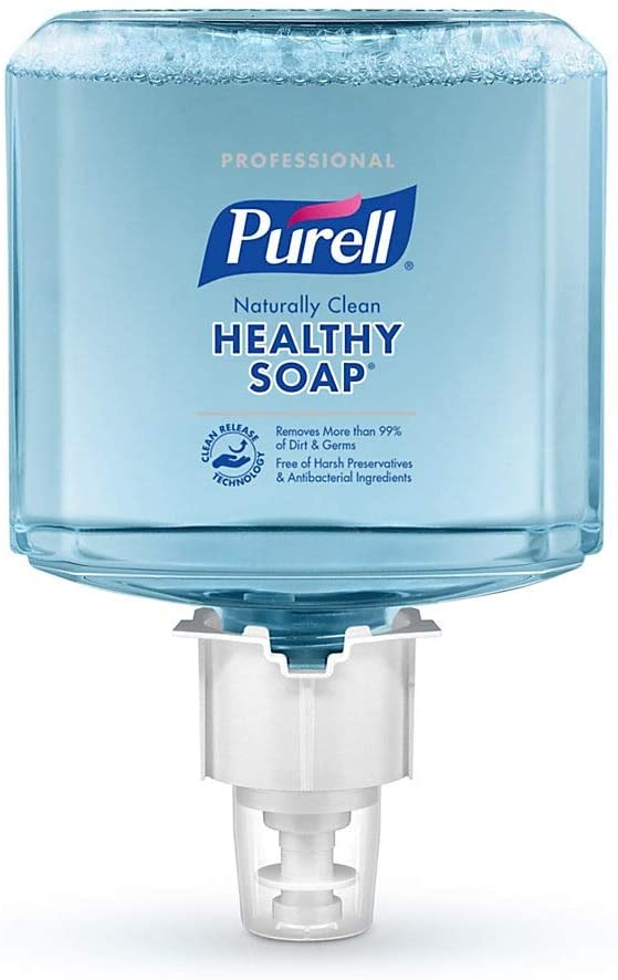 PURELL 647102 Professional CRT HEALTHY SOAP Naturally Clean Foam, For ES6 Dispensers, 2/CT