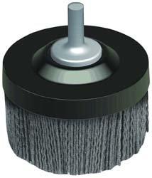 Osborn 00047251SP 47251Sp UniLoc Abrasive Disc Brush with Quick Change, Silicon Carbide, 4500 Maximum RPM, 11/2