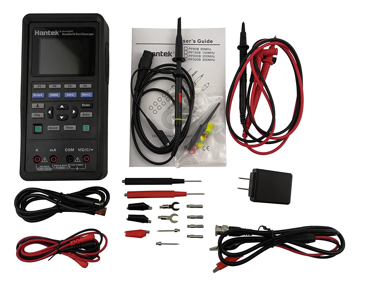 Hantek 2C42 Handheld Oscilloscope Multimeter 2 in 1 Multifunction Tester 2CH+DMM 40MHz