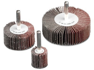 Flap Wheels, 3 in x 1 in, 60 Grit, 20,000 rpm - 1 Each