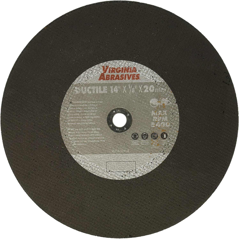 VIRGINIA ABRASIVES 424-10914 14x1/8x20 Ductile Blade