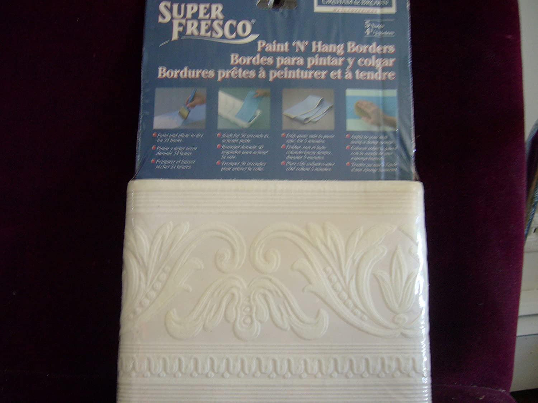 Super Fresco Paint N Hang Borders 5 Yards 93076 Grecian Design