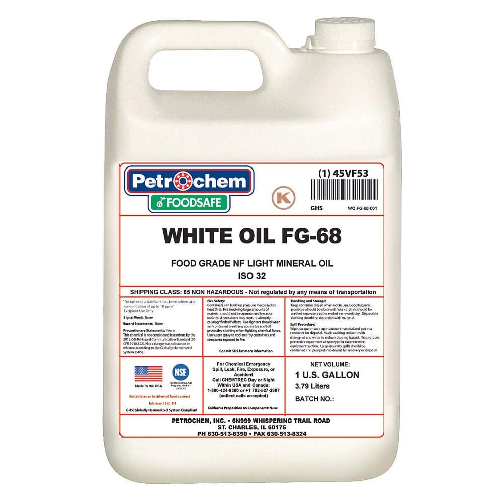 Petrochem Mineral Hydraulic Oil Food Grade 1 gal.