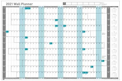 Sasco Wall Planner 2021, unmounted