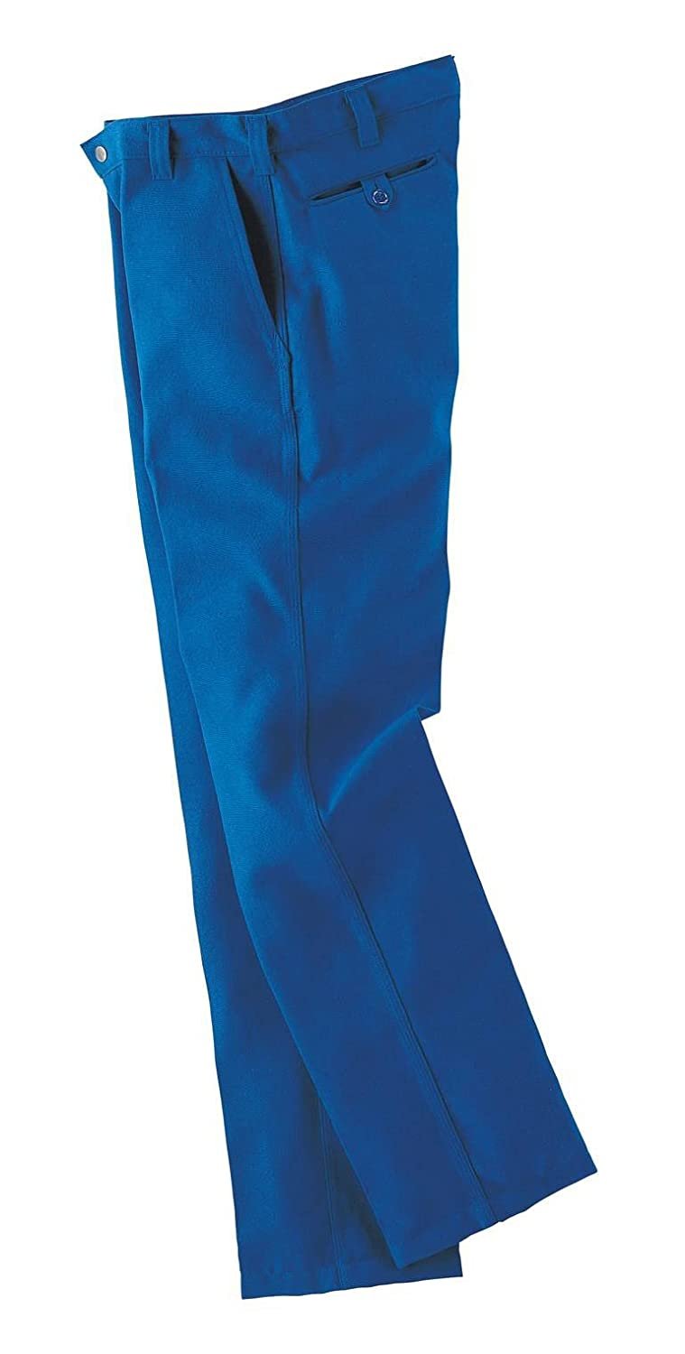 Workrite 400NX75RB48-30 Flame Resistant 7.5 oz Nomex IIIA Industrial Pant, 48 Waist Size, 30 Inseam, Royal Blue