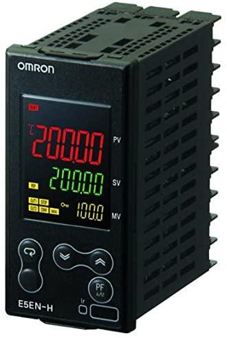 Omron E5EN-HAA2HHBFM-500 AC100-240 Temperature Controller, size 48mm x 96mm, supply voltage 100-240VAC
