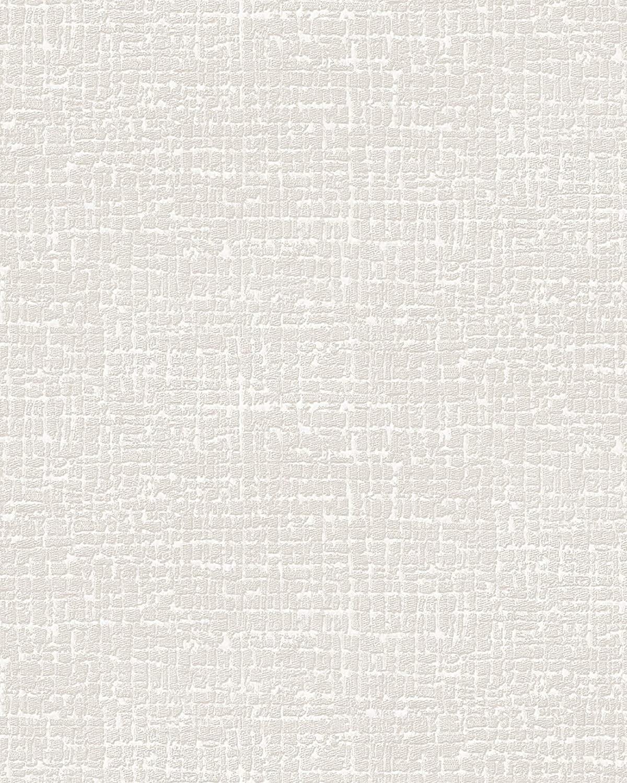 Ton-sur-ton Wallpaper Wall Profhome DE120101-DI hot Embossed Non-Woven Wallpaper Embossed Ton-sur-ton matt White 5.33 m2 (57 ft2)