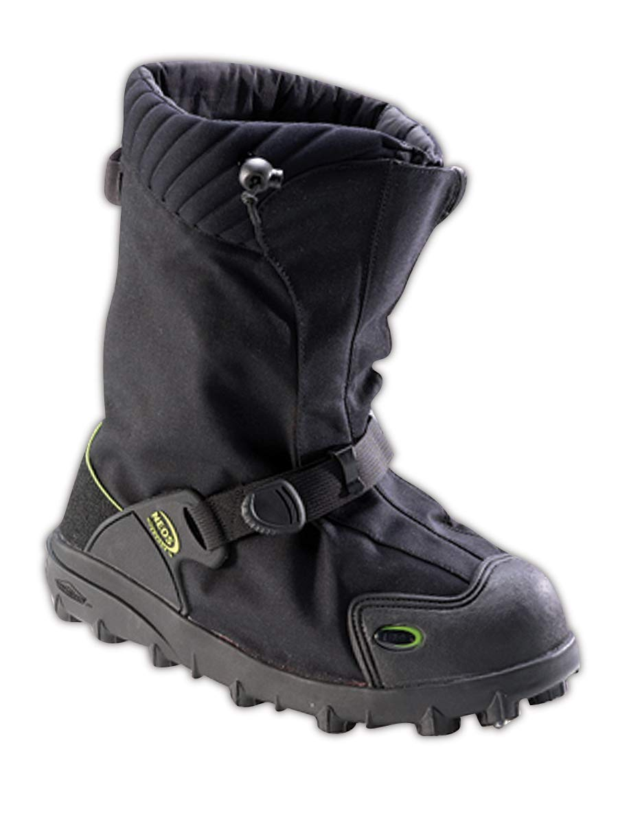 North by Honeywell EXSG-BLK-MED Neos Explorer Stabilicers High-Traction Overshoe, Capacity, Volume, Nylon, Medium, Black