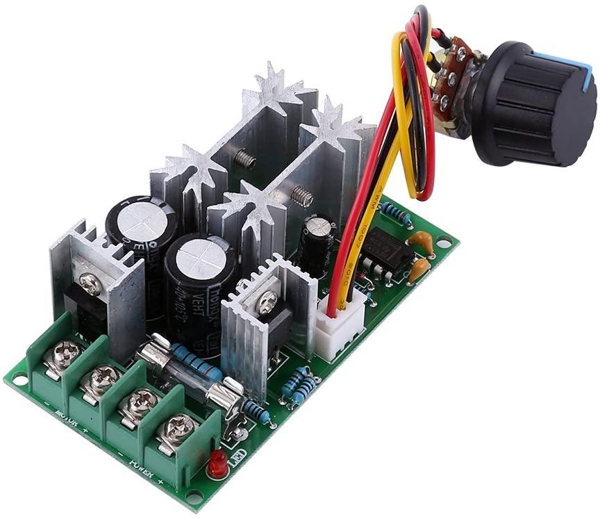 Yosoo Health Gear PWM DC10-60V Motor Speed Controller, Electric Motor Control Module