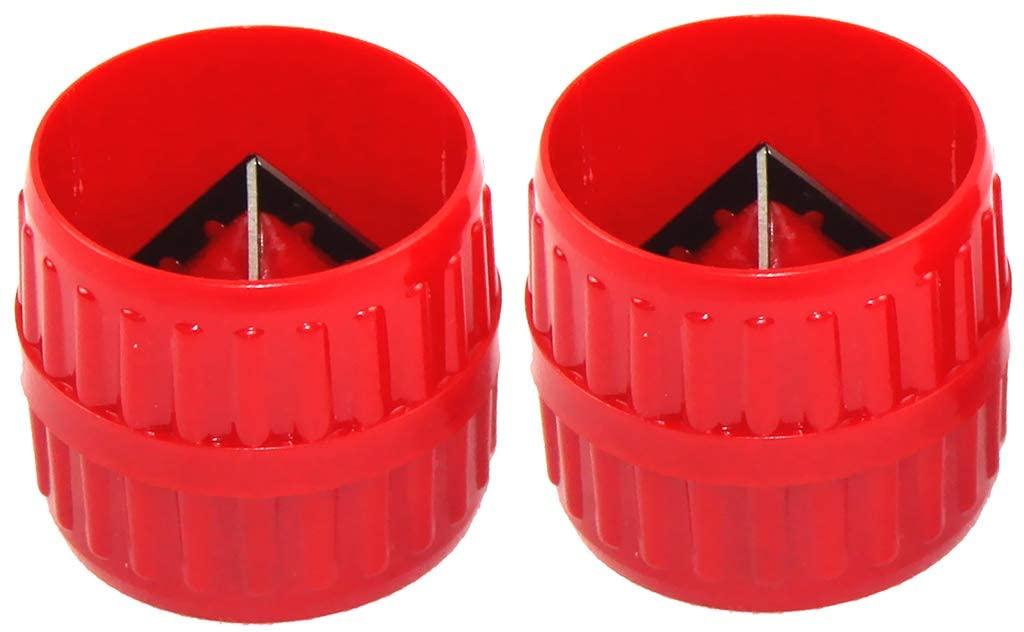 SDENSHI 2 Pcs 3mm-38mm Metal Tubes Deburring