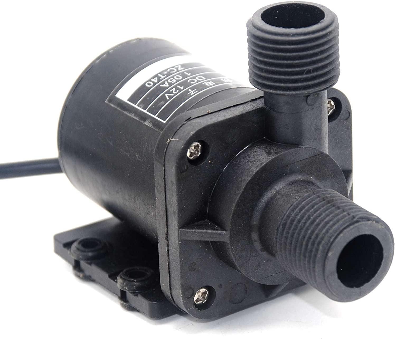 NYBG 12V ZC-T40 Water Pump DC Brushless Motor Magnetic Waterproof Hot 0-100°C