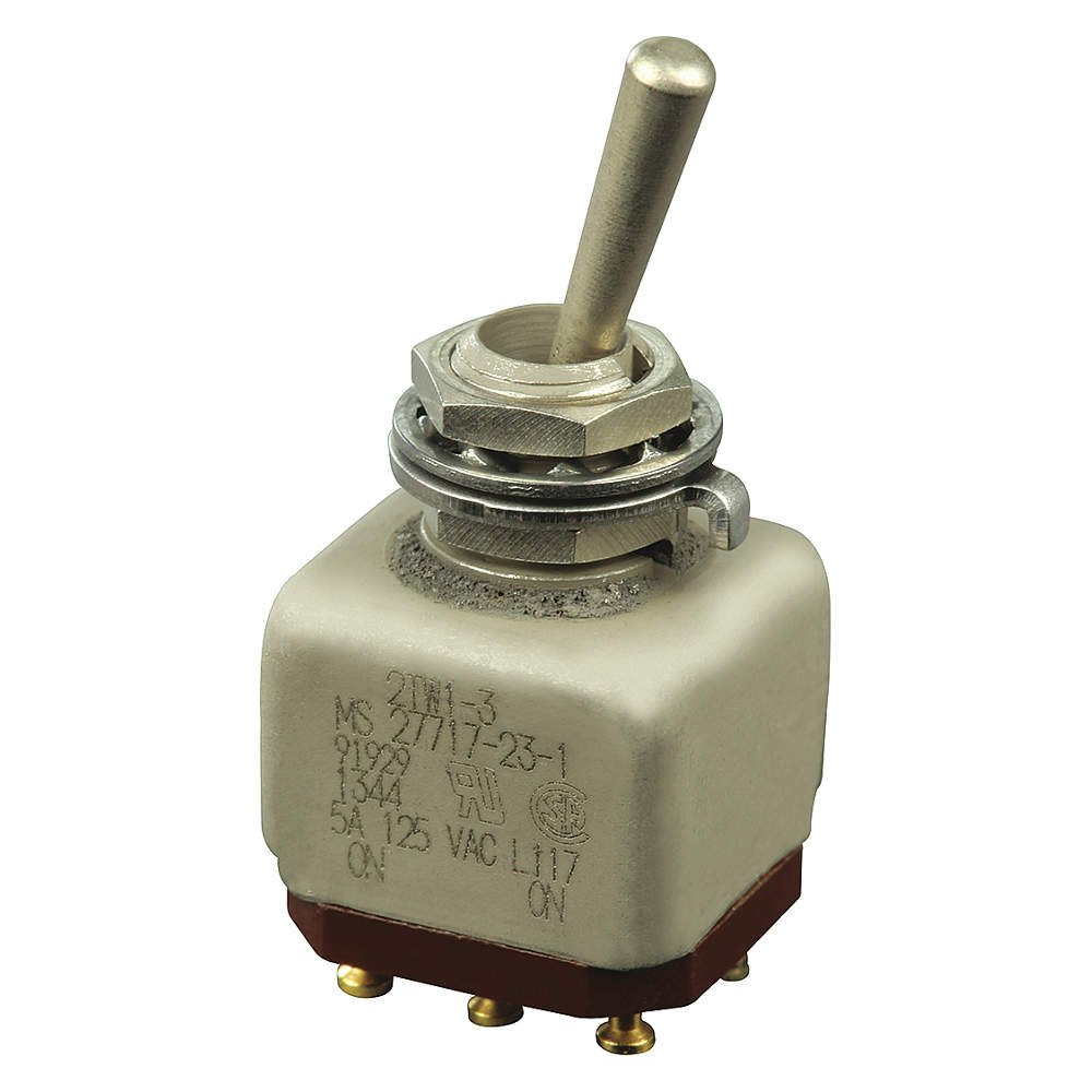 Honeywell Sensing and Control 2TW1-3 MICRO SWITCH8482; Electromechanical Switches, MICRO SWITCH8482; Toggle Switches