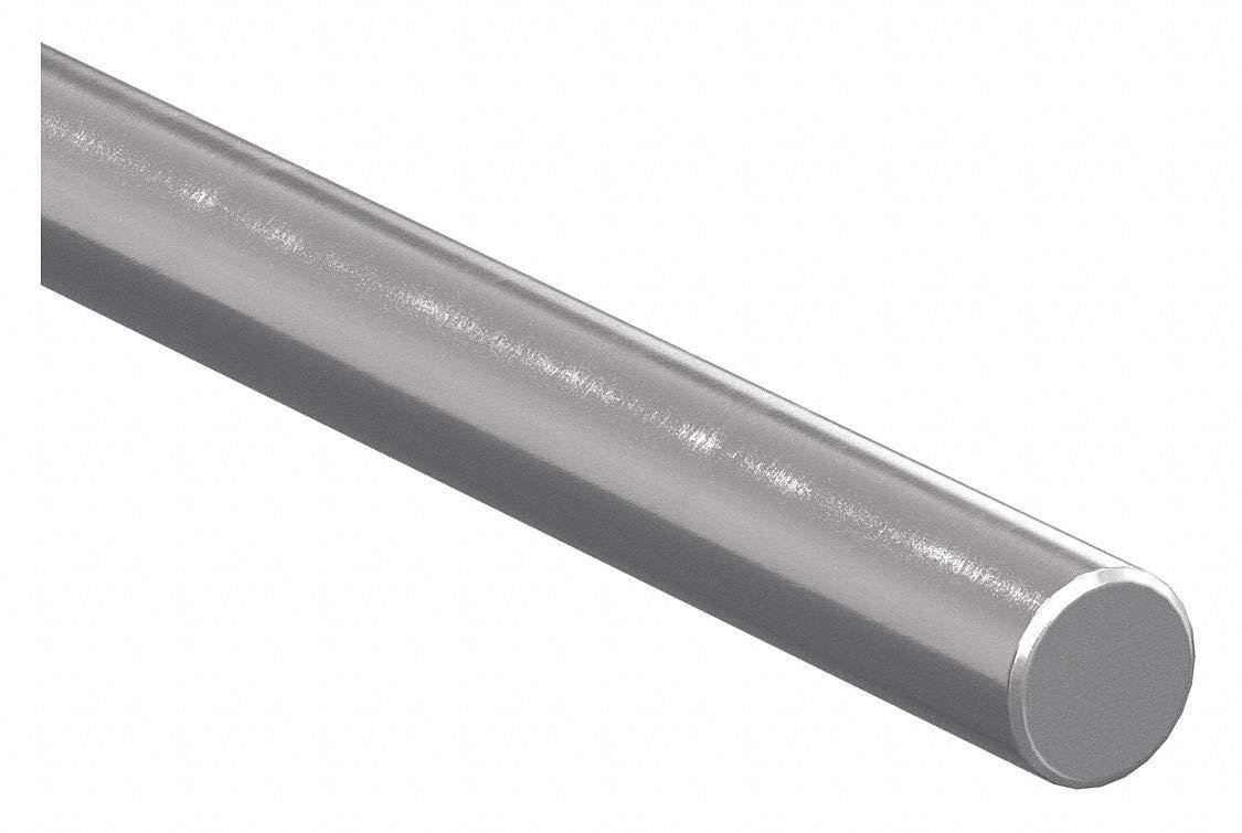 Shaft, Alloy Steel, 0.750 In D, 15 In
