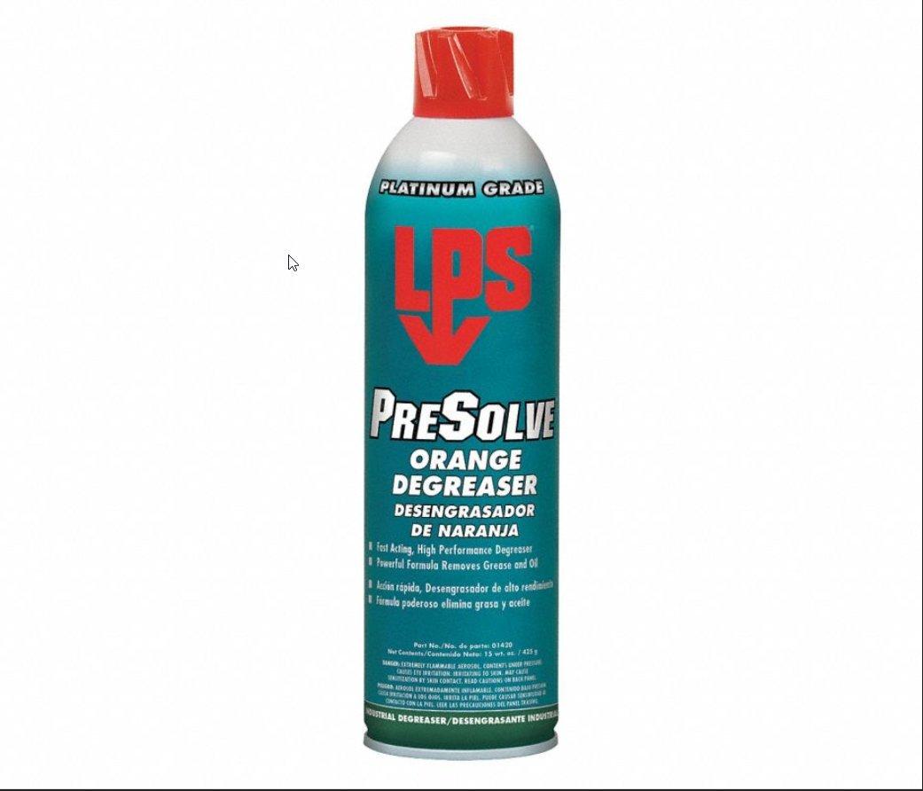 LPS 01420 PreSolve Orange Degreaser 15 oz,
