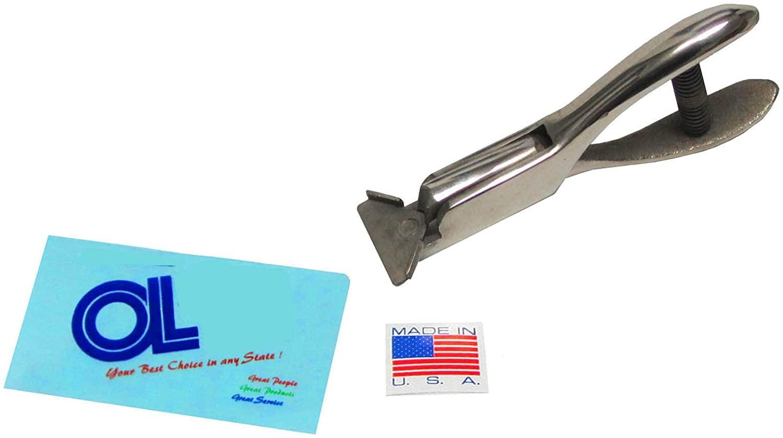 American Made 1/8-inch Radius Corner Rounder Cutter - Heavy Duty Punch