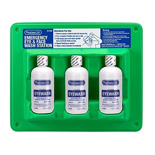 PhysiciansCare 24-308 Triple Bottle Eye Flush Station