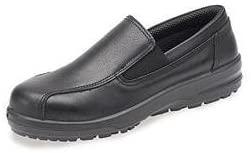 A.B.S by Allen Schwartz Women's Safety Shoe - ABS133P US Size 5