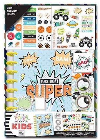 Create 365 The Classic Happy Planner Cool Dude Kids Box Kit