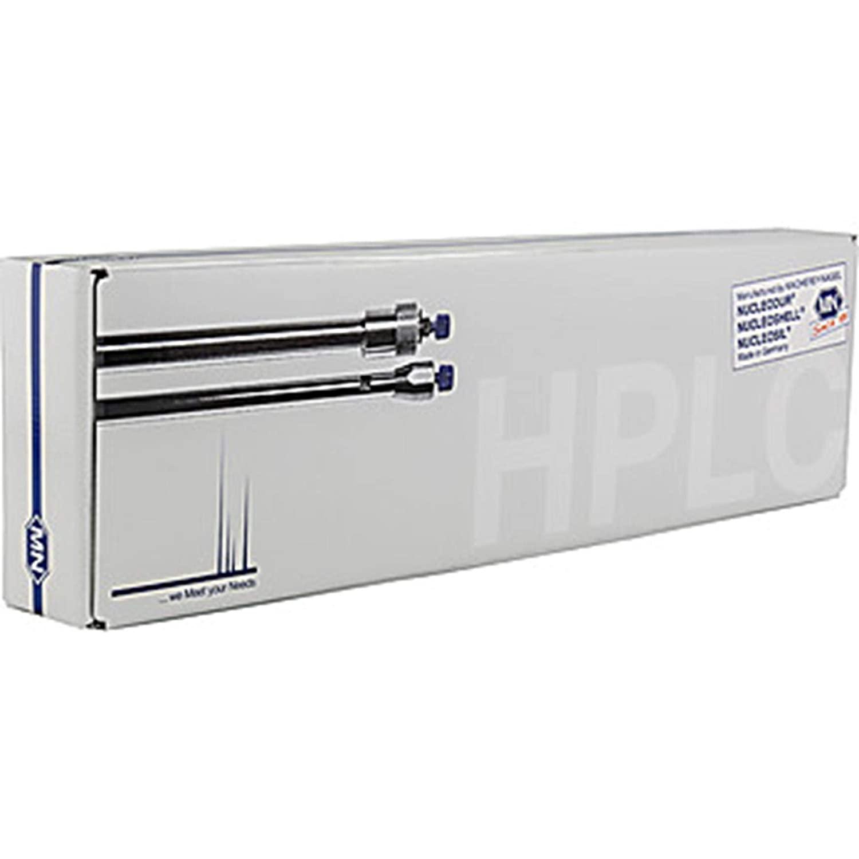 MACHEREY-NAGEL 760605.46 NUCLEODUR C18 Gravity-SB HPLC Column, Analytical, 3 µm, 75 mm Length, 4.6 mm ID, L1 USP, 1 Column