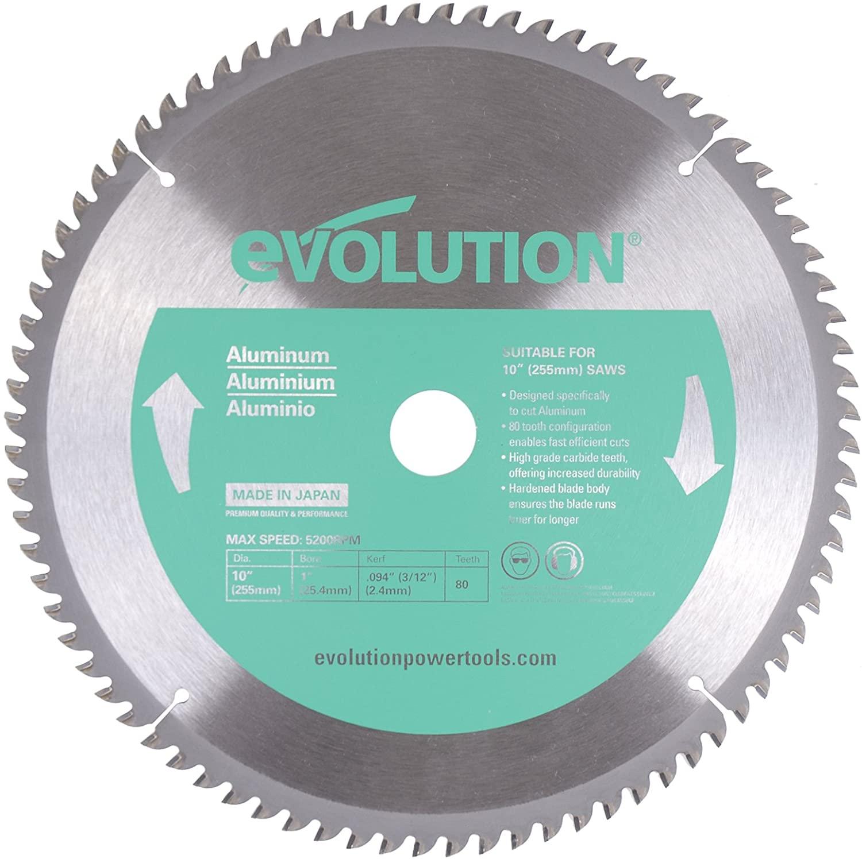 Evolution Power Tools 10BLADEAL Aluminum Blade, 10
