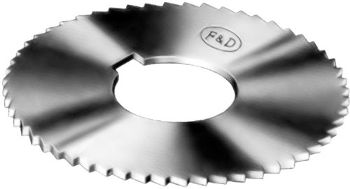 F&D Tool Company 15418-J167 Jeweler's Slotting Saws, High Speed Steel, 2.25