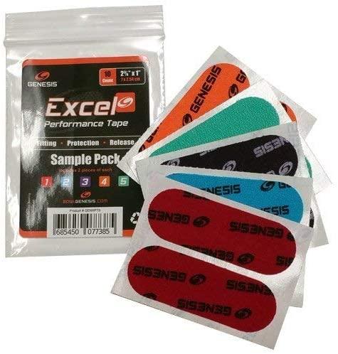 Genesis Excel Performance Tape- Sample Pack