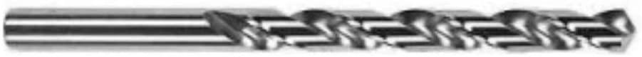 Regular-Point Drill Bits - Long Length (Larger Than 1/2 Inch HSS) - CD 63/64 | DE .9844 | FL 6-3/8 | OL 11