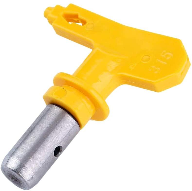 Zebery Universal Airless Paint Spray Gun High Pressure Sprayer -Spray Guide Accessory Tool, Color Separation Baffle Spray Gun Seat Anti-Splash with 517 Nozzle 7/8 Inch