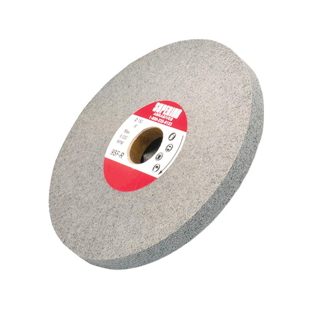 Superior Abrasives 54684 SHUR-Brite 6in x 1in x 1in Deburring Wheel, 7SF (Pack of 2)