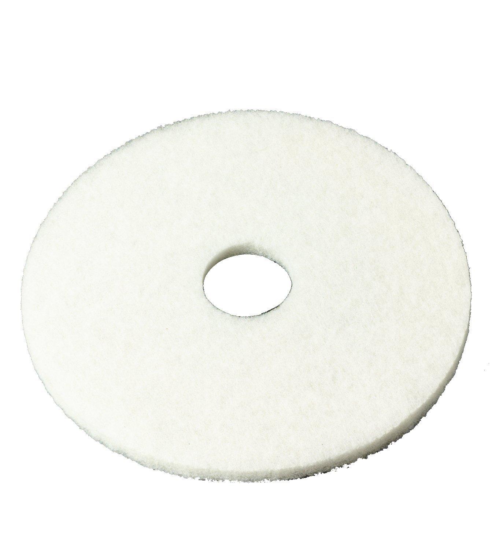 3M tm 4100 White Super Polish Pad - 17 5/cs -(1 CASE)