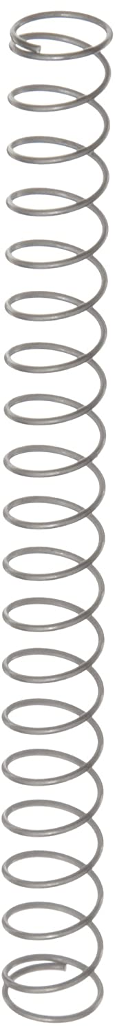 Compression Spring, Stainless Steel, Metric, 8.63 mm OD, 0.63 mm Wire Size, 10.21 mm Compressed Length, 37 mm Free Length, 8.32 N Load Capacity, 0.31 N/mm Spring Rate (Pack of 10)