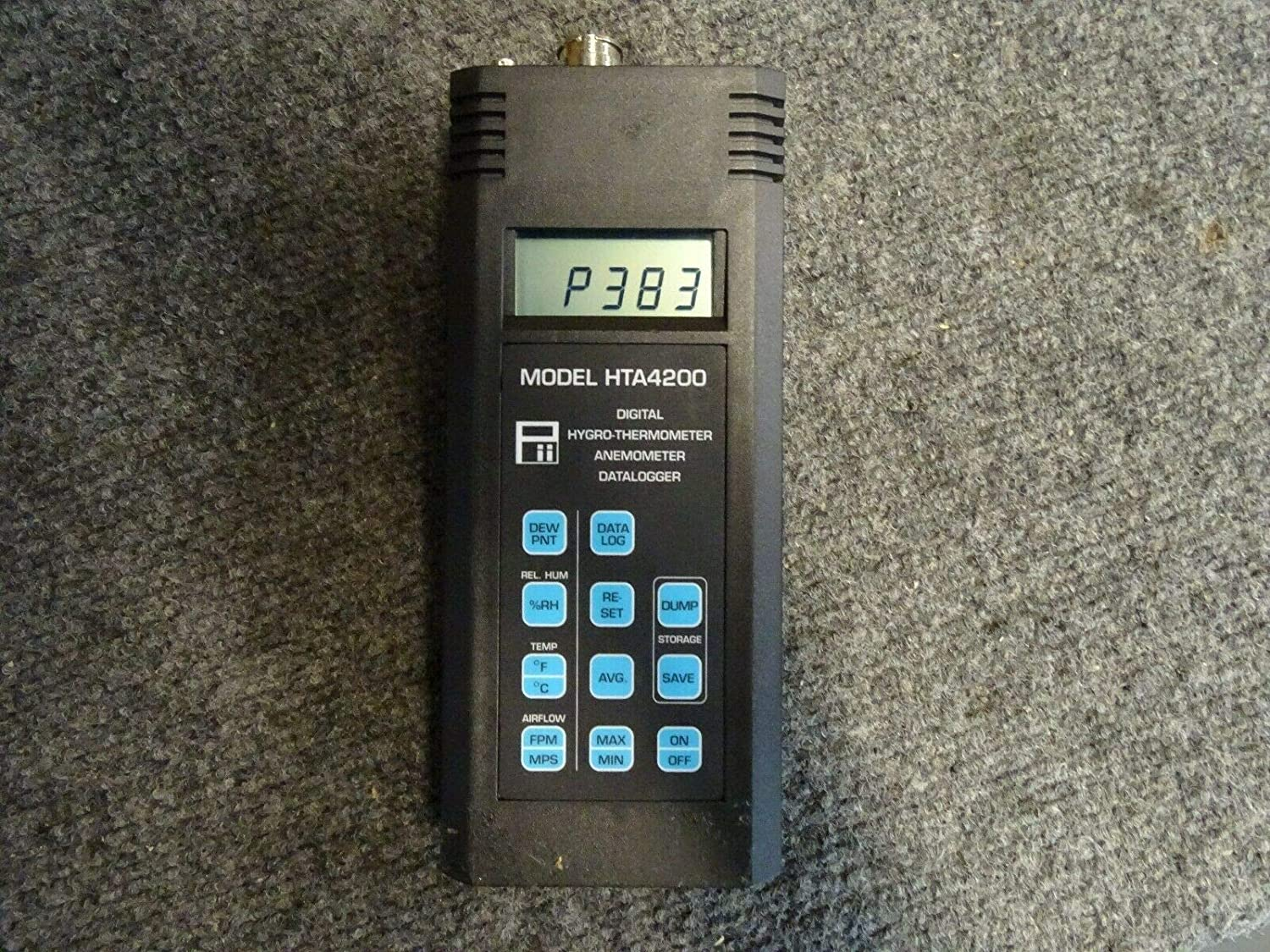 Pacer HTA4200 Digital Hygro Thermometer Anemometer Data Logger