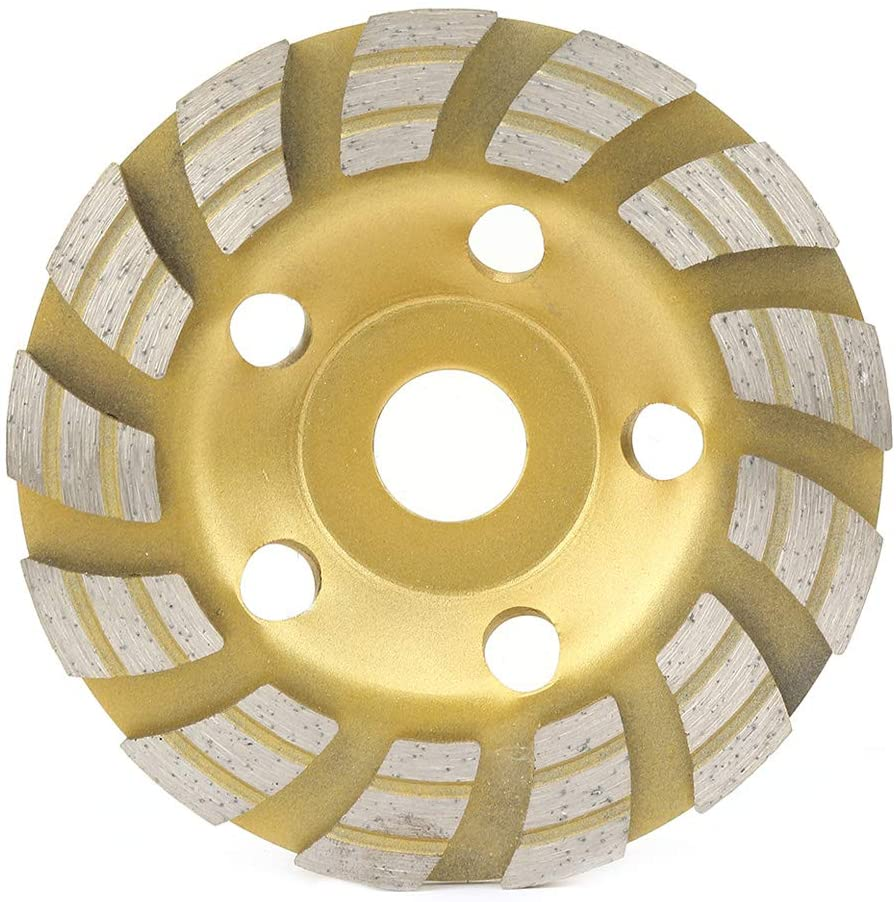 SOONHUA Diamond Segment Grinding Wheel Cup Cutting Disc for Concrete Marble Granite 12522.2mm