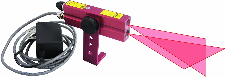 Johnson Level 40-6230 110V AC Red Beam Crossline Laser, Red