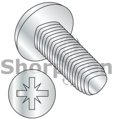 Din 7500 C Metric Type Z Pan Thread Rolling Screw Zinc and Baked and Wax M2.5-0.45 x 8 BC-M2.58D7500C (Box of 1500) - Weight 1.62 Lbs