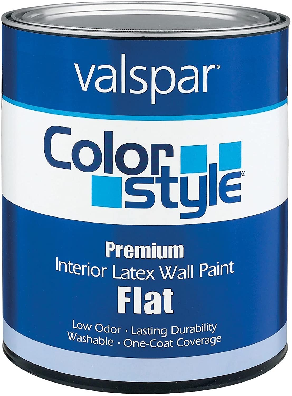 Valspar 44-26305 QT 1 Qt Pastel Base ColorStyle Interior Latex Flat Wall Paint