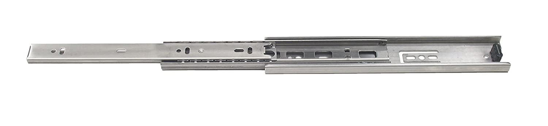 Sugatsune ESR-DC-4513-12 Slide, Non Handed, 304 Stainless Steel, Rubber Detent, Plastic Lift Lever, 11.81