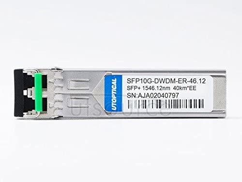 DWDM-SFP10G-46.12 Compatible SFP10G-DWDM-ER-46.12 1546.12nm 40km DOM Transceiver(Compatible:Extreme)